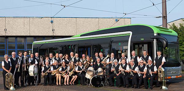 Weihnachtslieder Blasorchester.üstra Fahrgastcenter Das Blasorchester